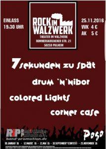 Rock im Walzwerk - Plakat